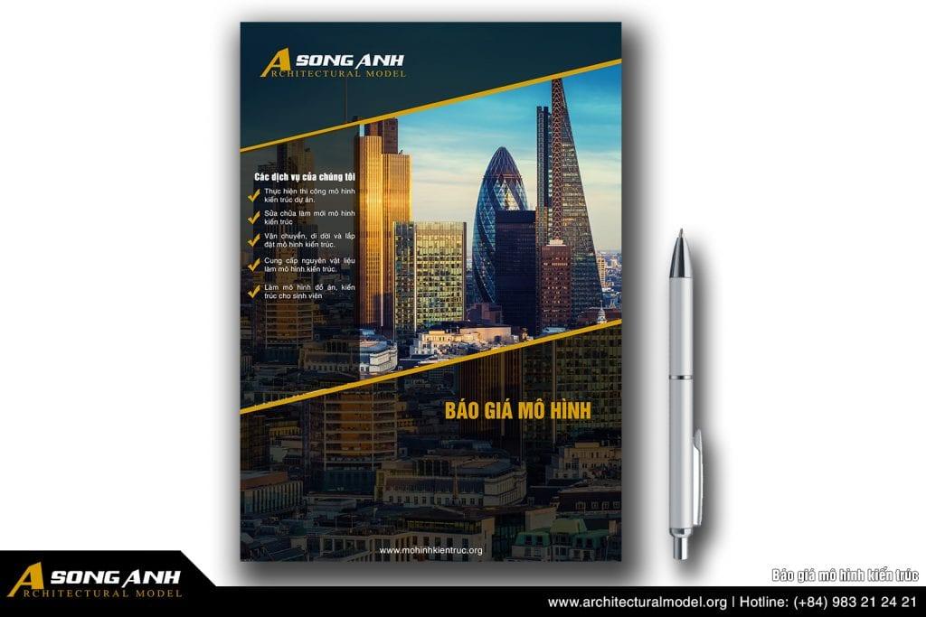 Báo giá mô hình kiến trúc - Sa bàn kiến trúc 2020