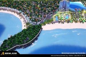 Cover image Mô hình Resort Lancaster Nam Ô tại Đà Nẵng - Tập Đoàn Trung Thủy