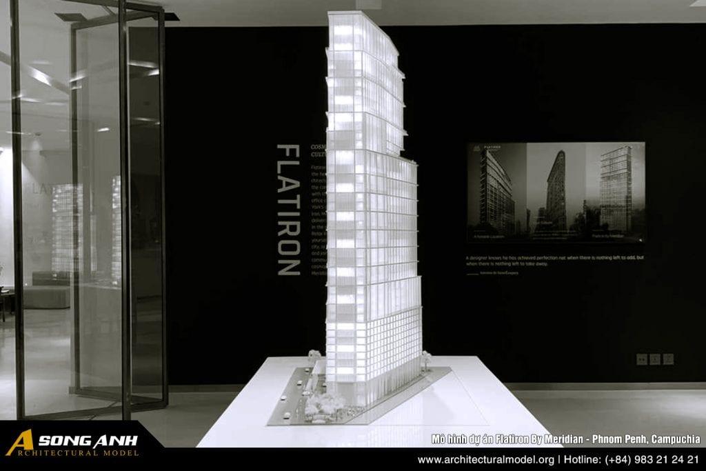 Cover image - Mô hình tòa nhà Flatiron By Meridian tại Phnom Penh Campuchia