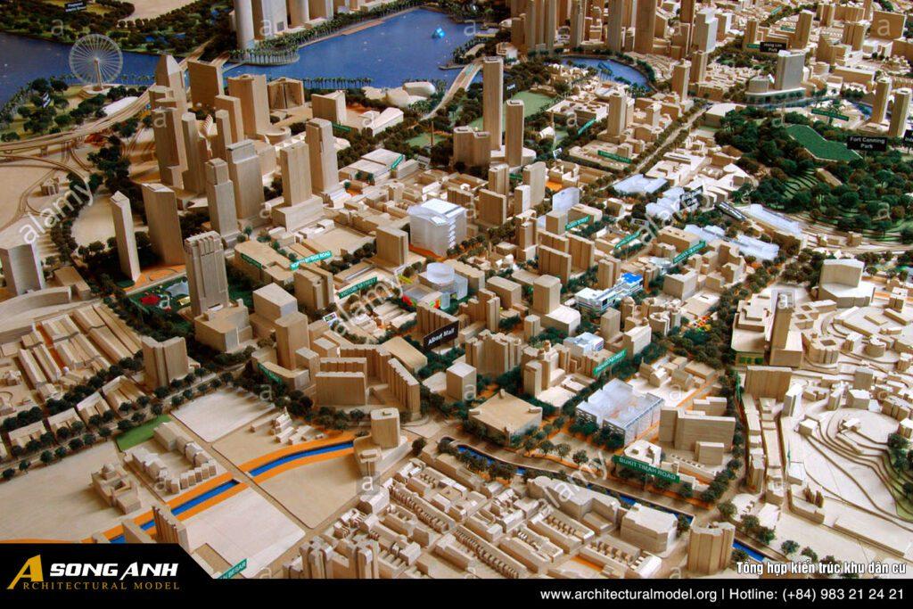 Tổng hợp kiến trúc khu dân cư
