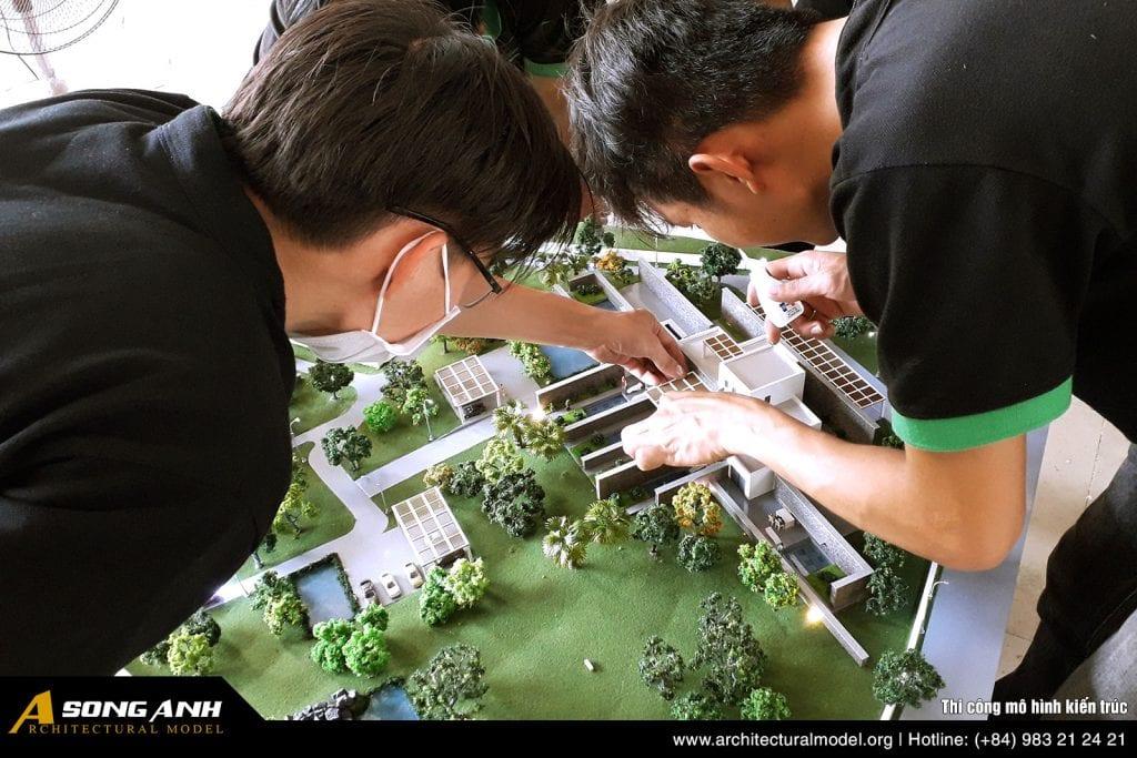 Cover image - Thi công mô hình kiến trúc | Sa bàn kiến trúc