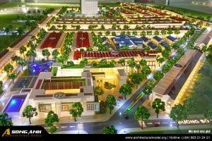 Cover image Mô hình quy hoạch Architectural Model Org