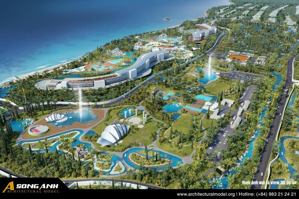Hình ảnh miêu tả view 3D dự án