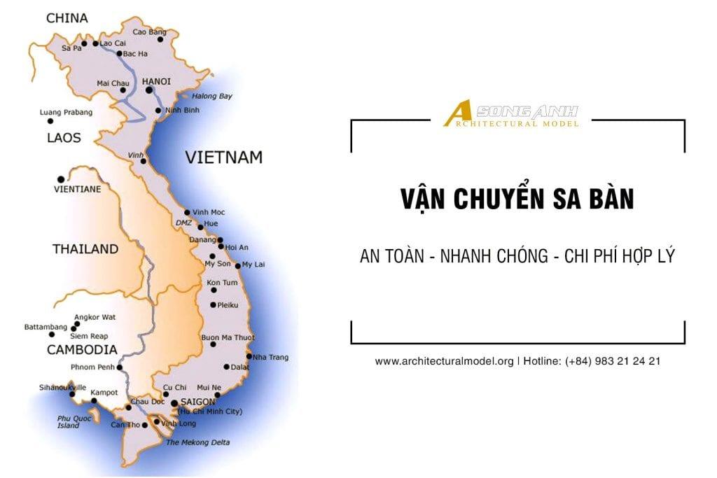 Vận chuyển mô hình An Toàn - Nhanh Chóng - Chi Phí Hợp Lý