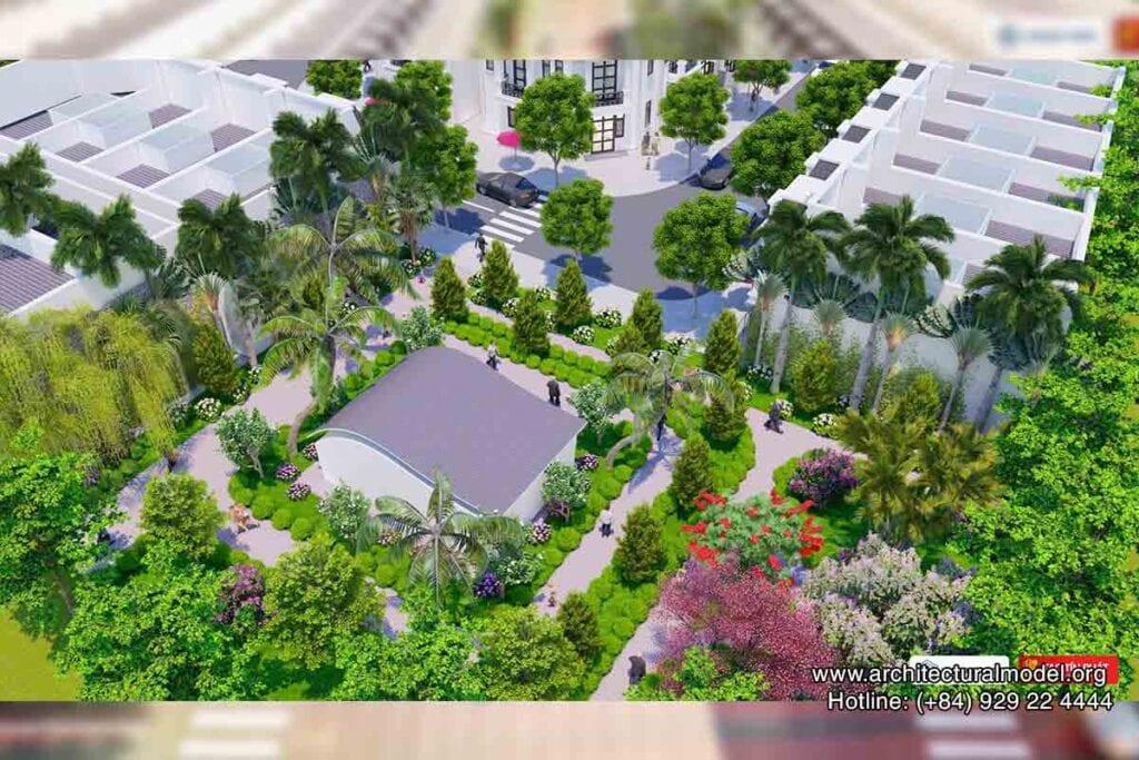 Phối cảnh mô hình nhà ở Phước Điền Cityzen - Bình Dương