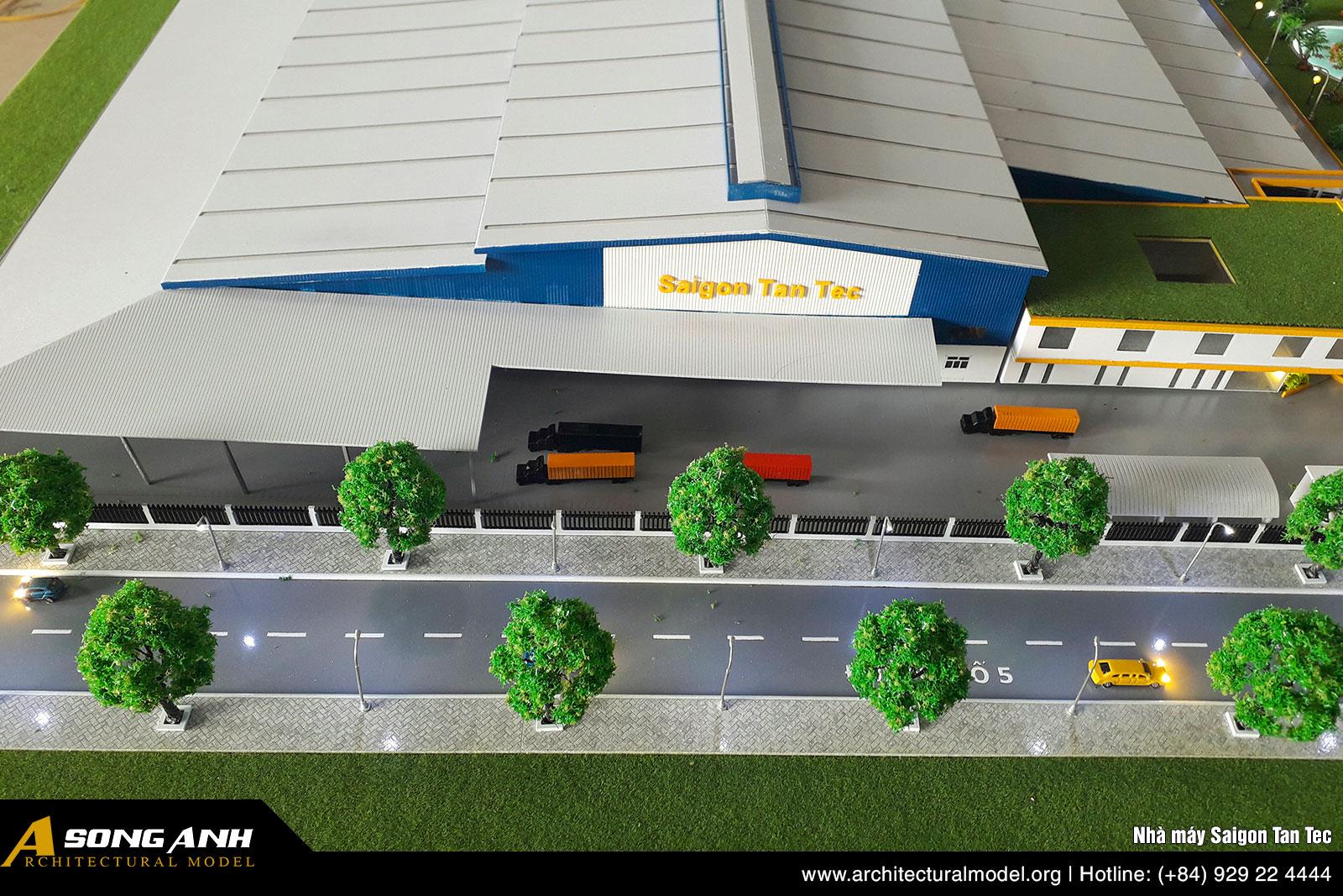 Mô hình nhà máy Saigon Tan Tec