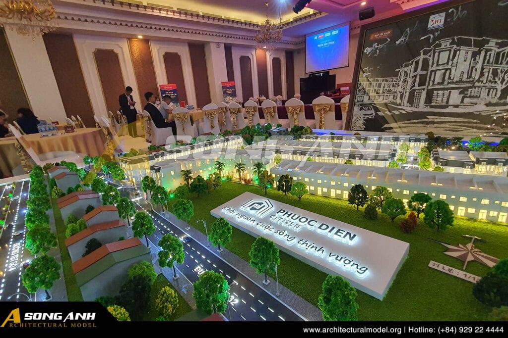 Mô hình nhà ở Phước Điền Cityzen - Bình Dương